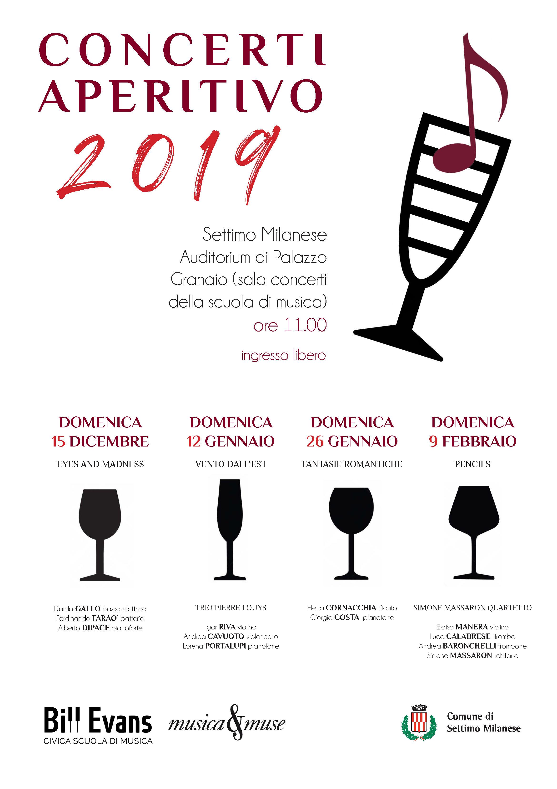 Concerto aperitivo Settimo Milanese 2019